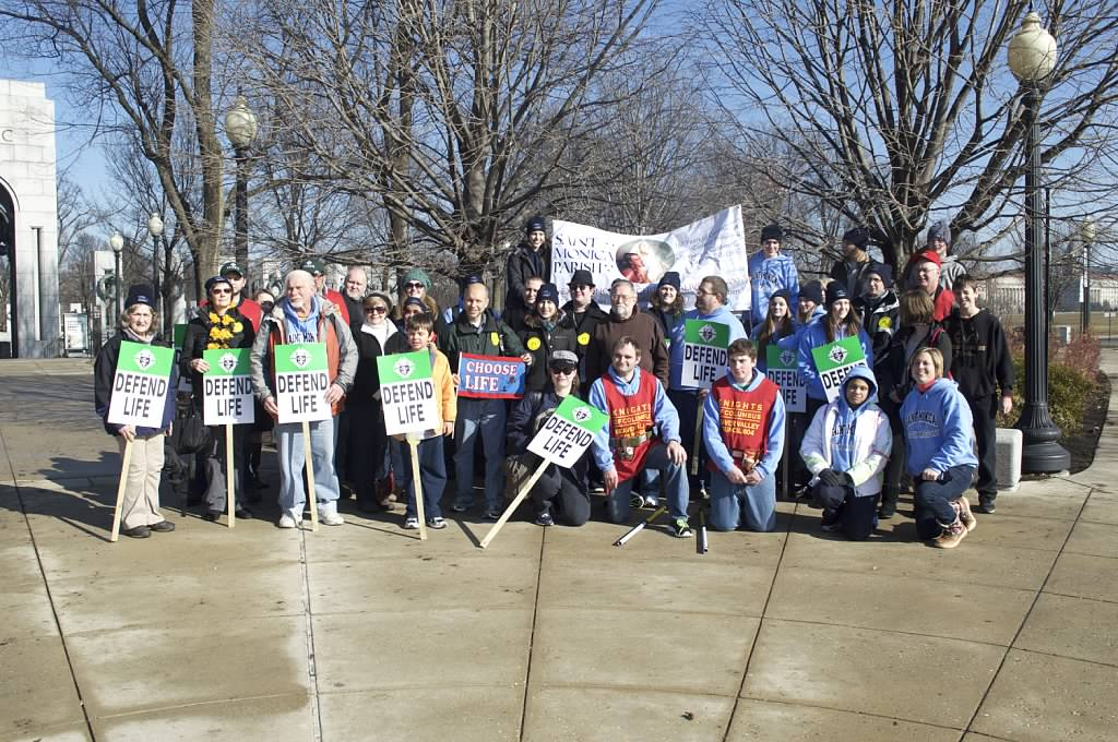 March for Life Group Photo